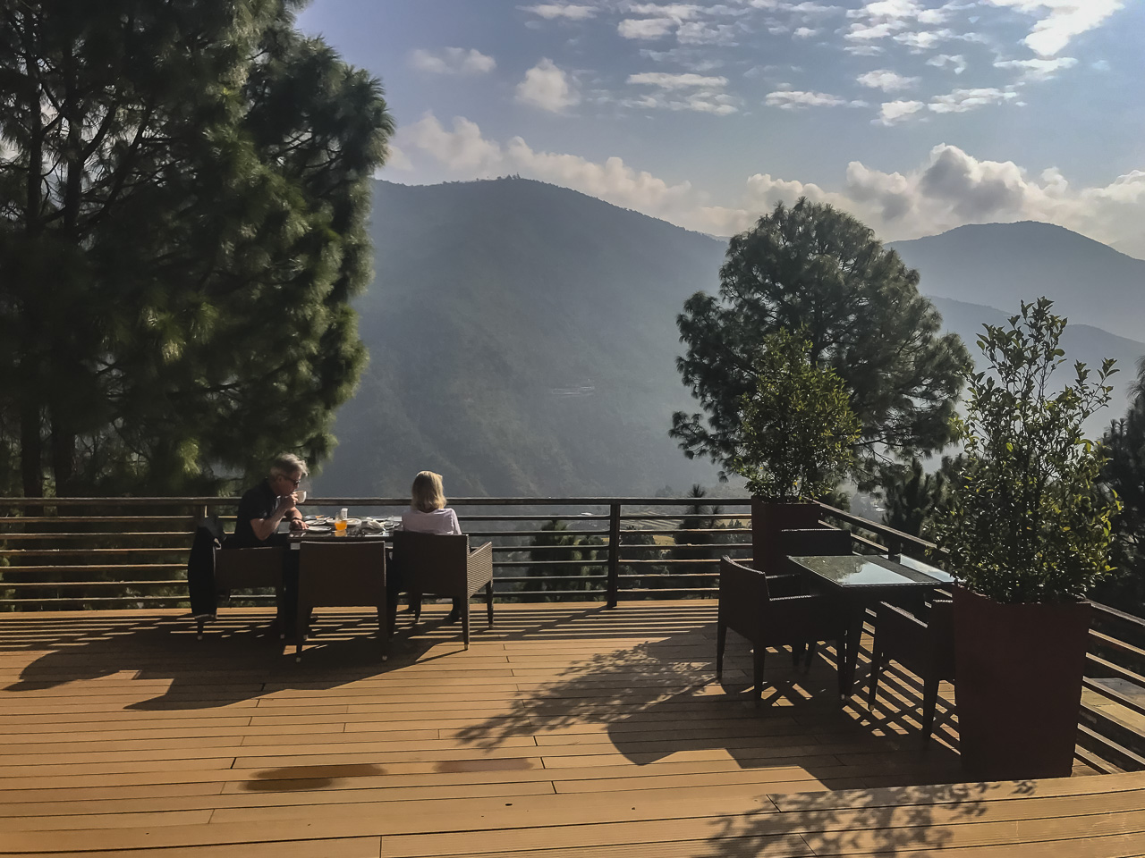 where to stay in Bhutan Dhansa Resort