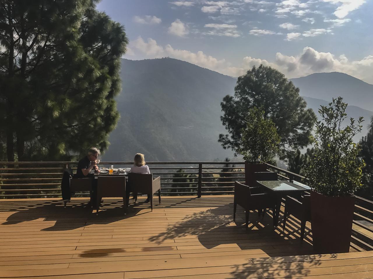 where to stay in Bhutan Dhansa Resort