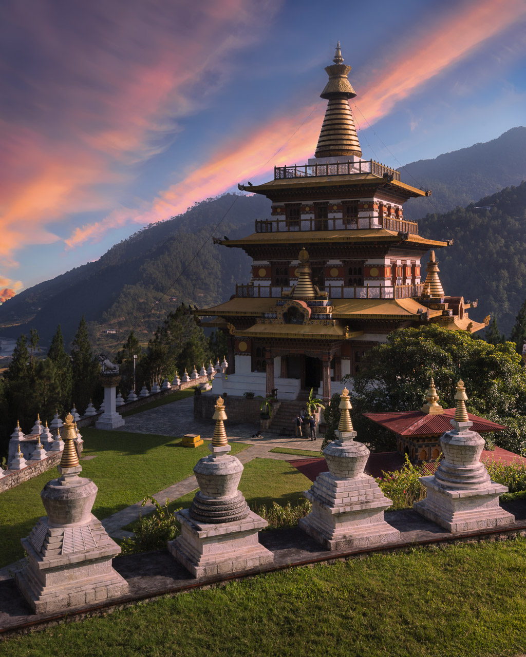 Things to do in Bhutan Khamsum Yulley Namgyal Chorten