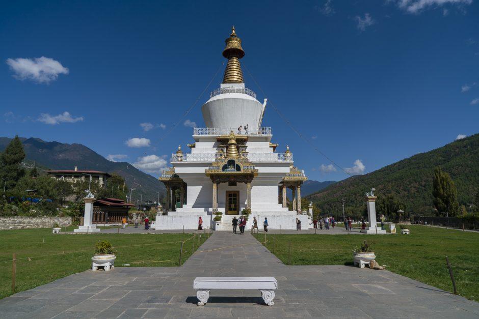 Things to do in bhutan National Memorial Chorten