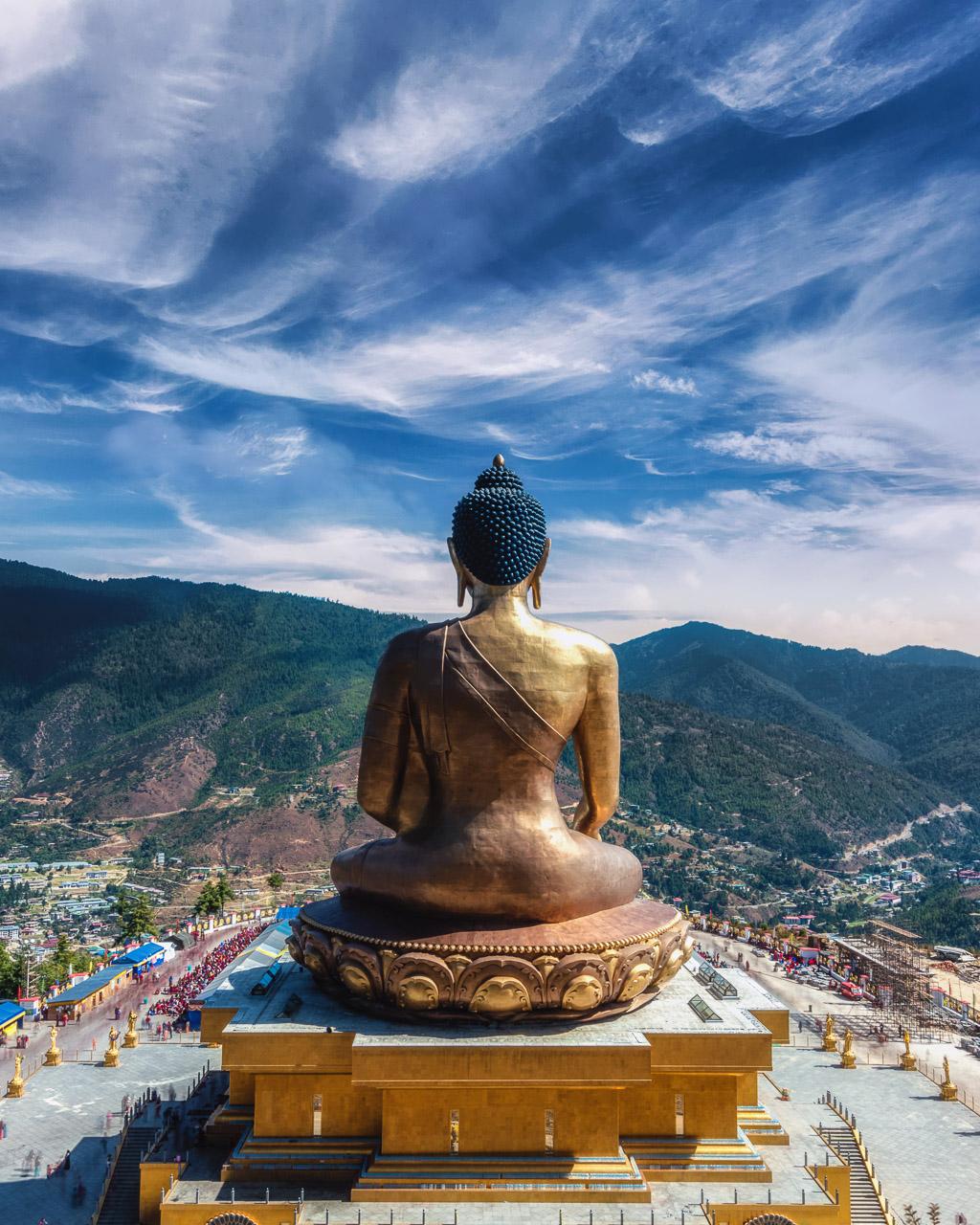 Things to do in Bhutan Thimpu Buddha Dordenma