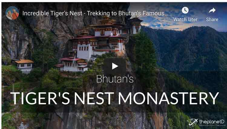 things to do in bhutan video