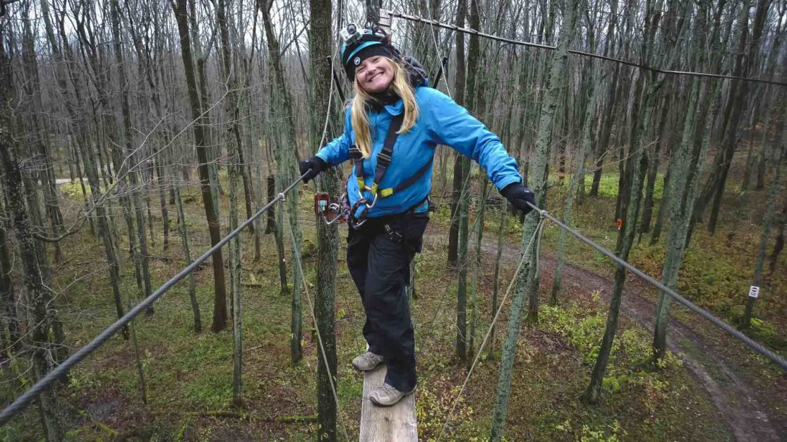 high ropes at blue mountain