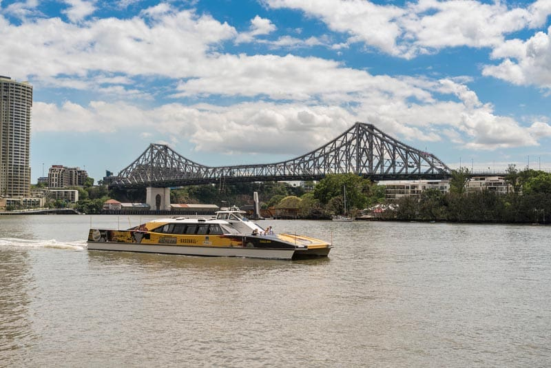 things to see in Brisbane city water taxi