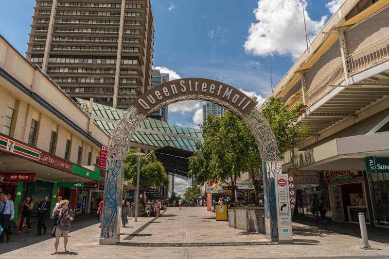 go to the Queen Street Mall