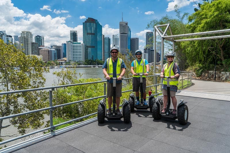 what to see in Brisbane Segway tours