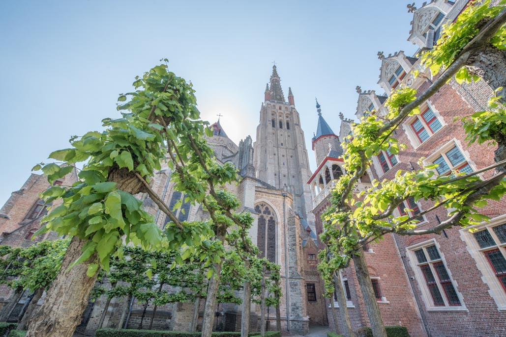 what to do in Bruges | The Church of our Lady