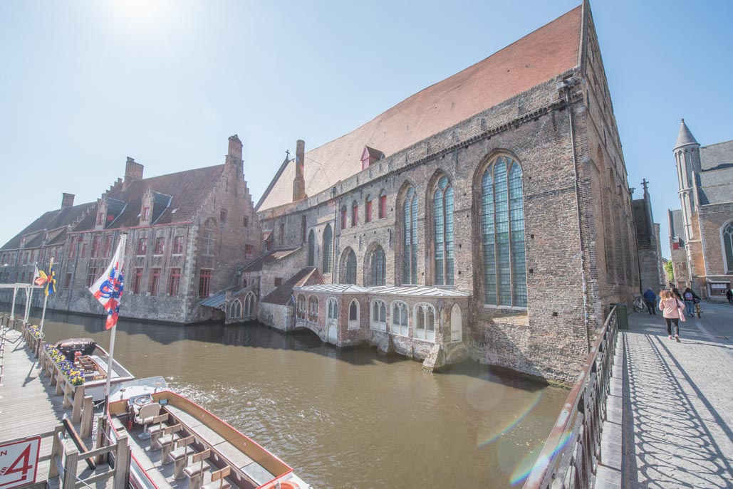 Things to do in Bruges | Museum Sint-Janshospitaal Canal View