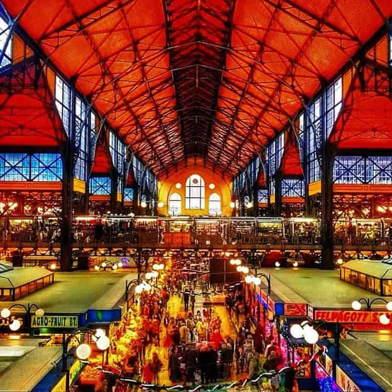 where to go in Budapest Central Market