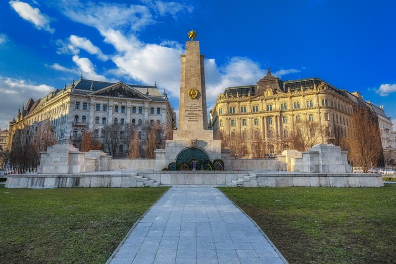 budapest attractions | liberty square
