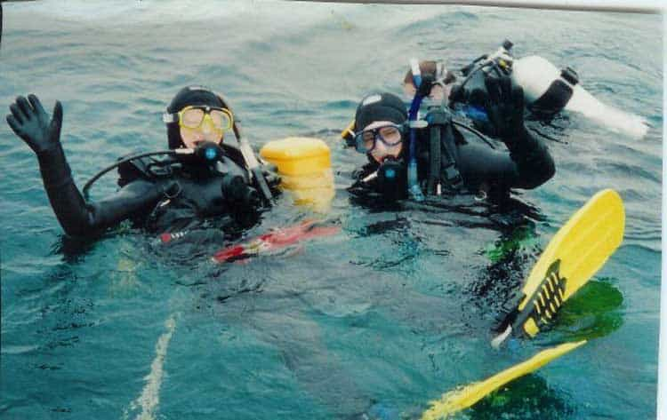 scuba diving in tobermory
