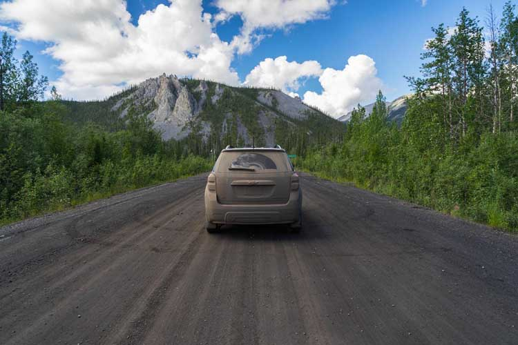 fun things things to do in canada | drive the dempster highway