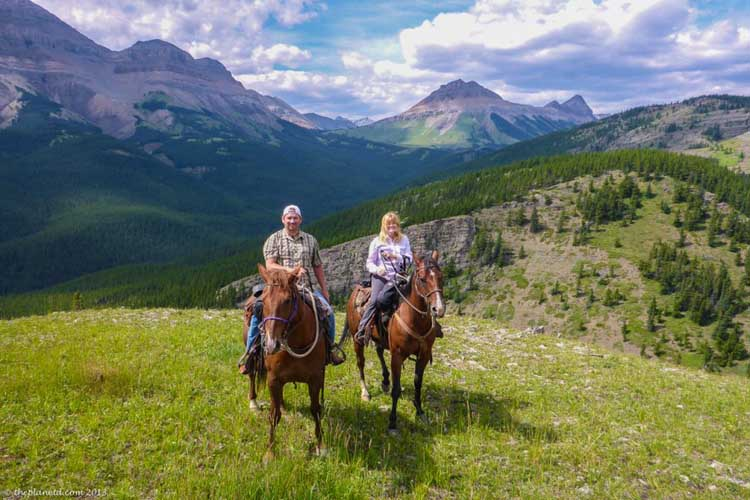 outdoor things to do in canada | high mountain trail ride