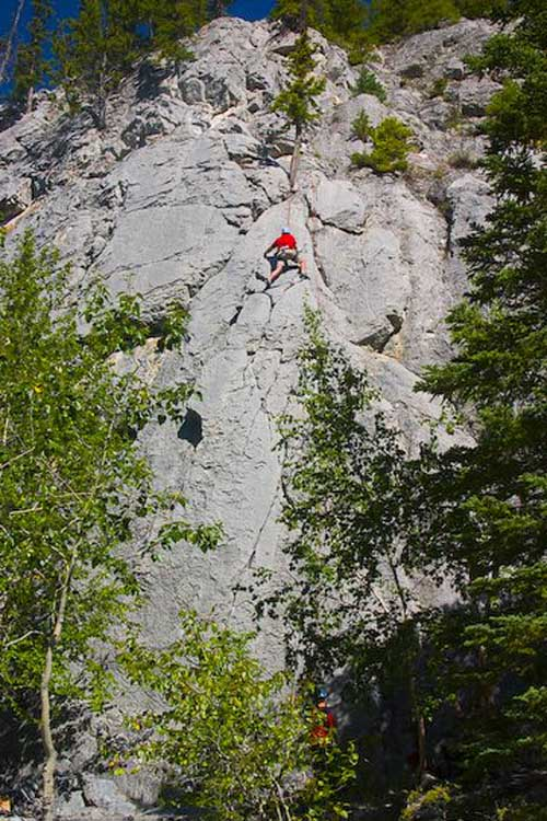 things. todo in canada in july |} rock climbing