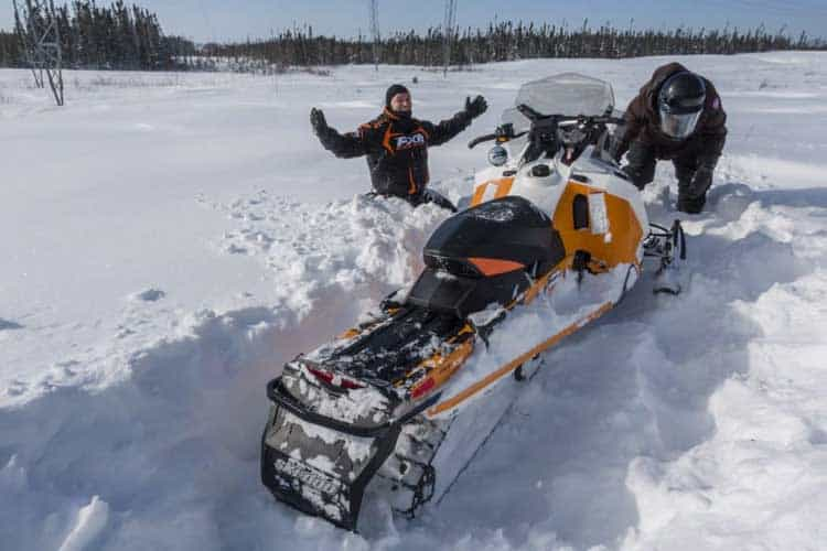 ultimate canada activities | snowmobile in quebec