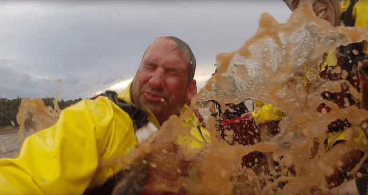 what to do in canada | tidal bore rafting in Nova Scotia