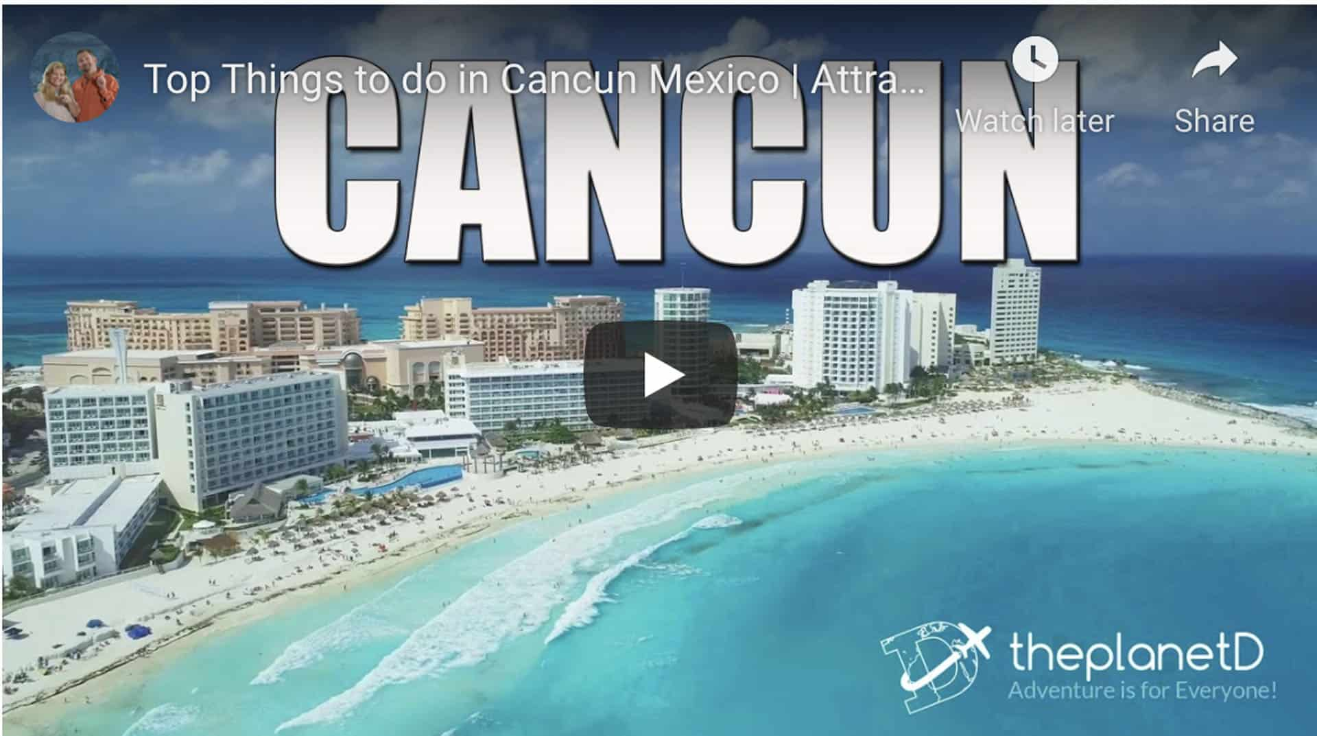 the best things to do in cancun video