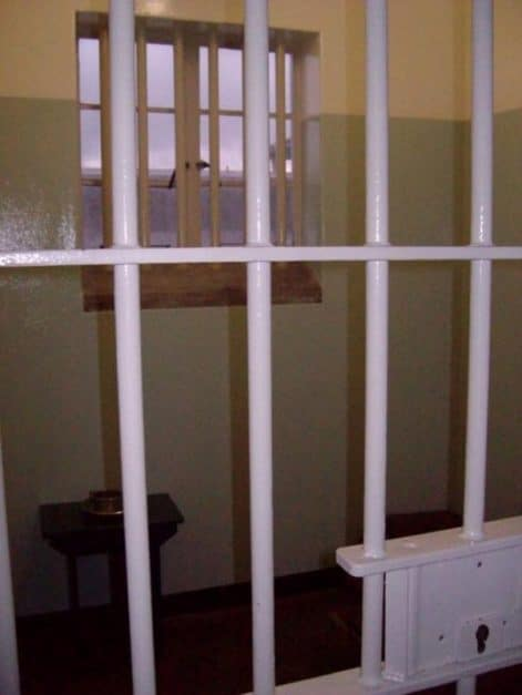 nelson mandela's cell robben island | places to visit in cape town