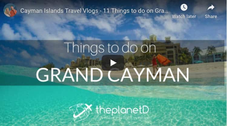 what to do in the Cayman Islands video