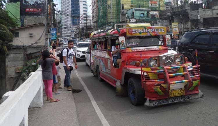 jeepney in cebu philippines