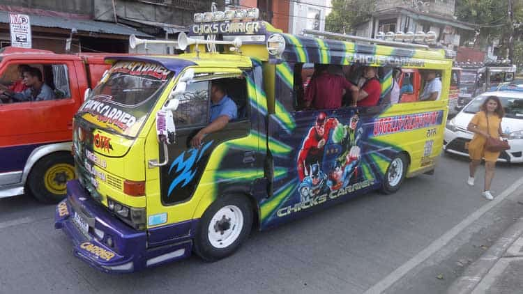 things to do in cebu philippines | jeepney