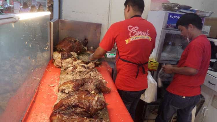 what to do in cebu | local food