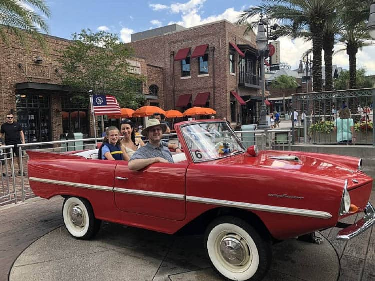 things to do in central florida. this weekend | disney amphicar