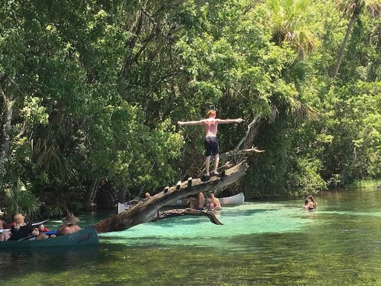 things to do in central florida | rainbow river