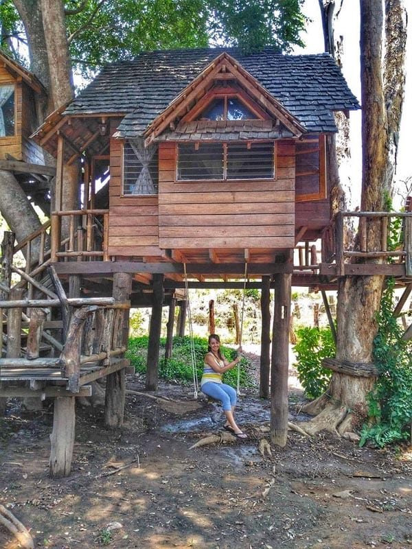 where to stay in Chiang Mai treehouse