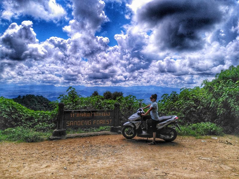 what to do in chiang mai rent a motorcycle