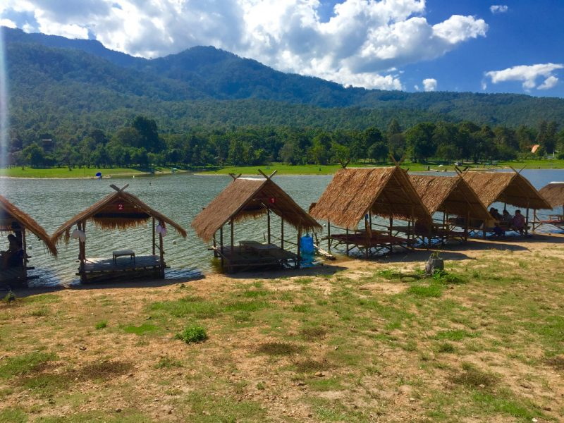where to stay in chiang mai water bungalows