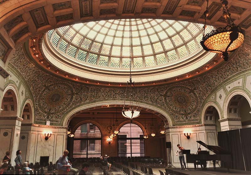 what to see in chicago | chicago cultural center