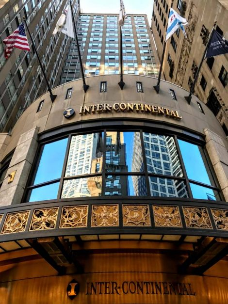 where to stay in chicago   intercontinental hotel