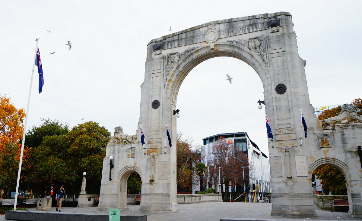 unusual things to do in christchurch | meeting point at bridge of rememberance