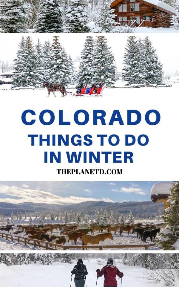 best winter activities in colorado