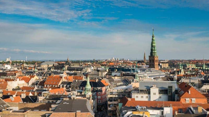 city view things to do in copenhagen from the tower