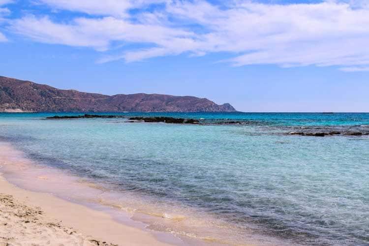 Крит, Греция | чем заняться на пляже элафониси