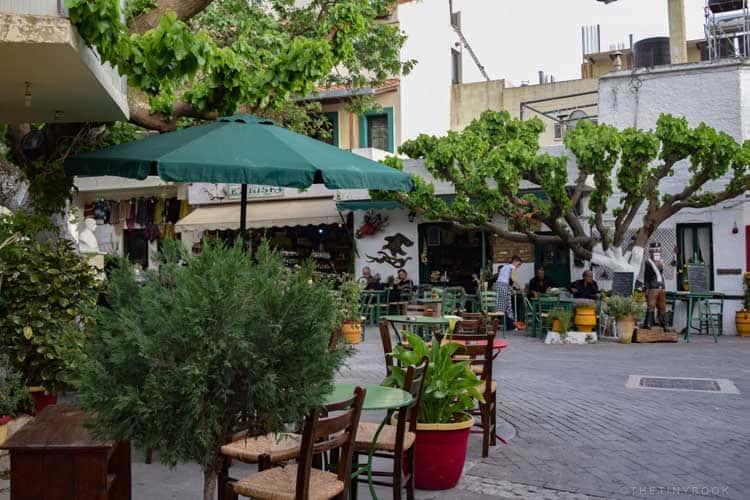 должны делать вещи в Греции | традиционные деревни