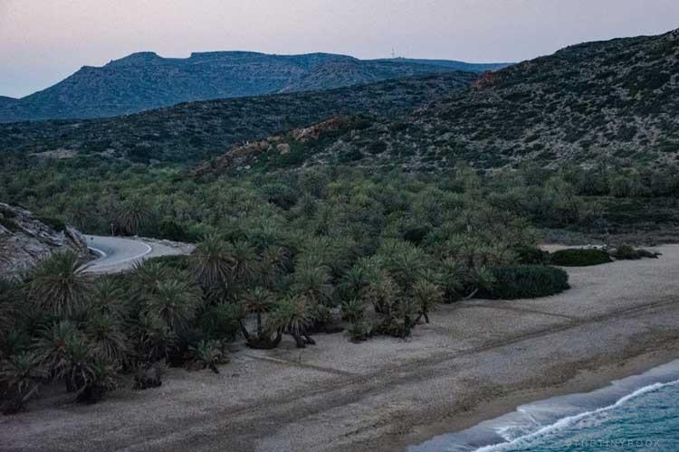 что посмотреть на Крите Греция | пляж Вай