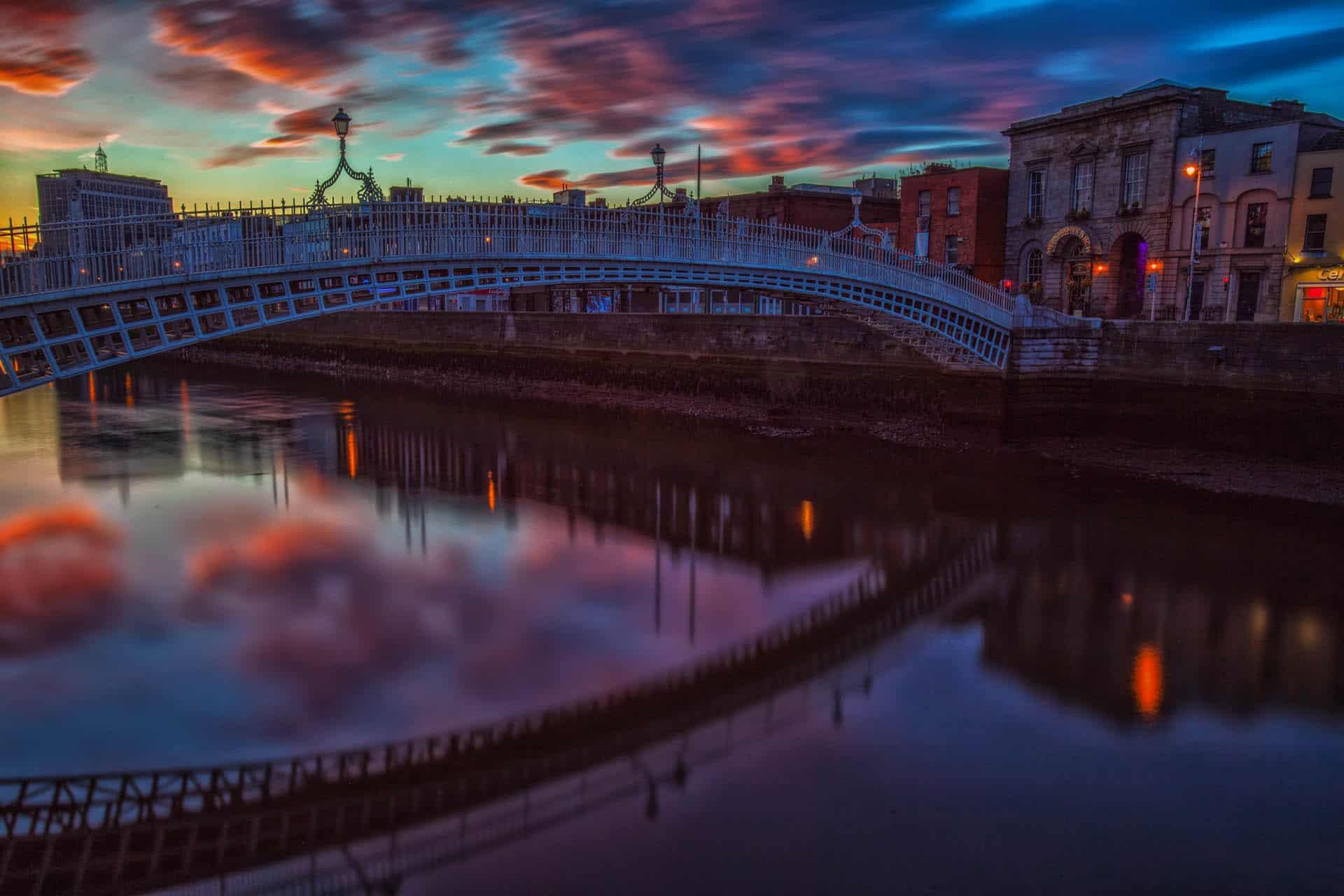 ha'penny bridge | things to see in Dublin