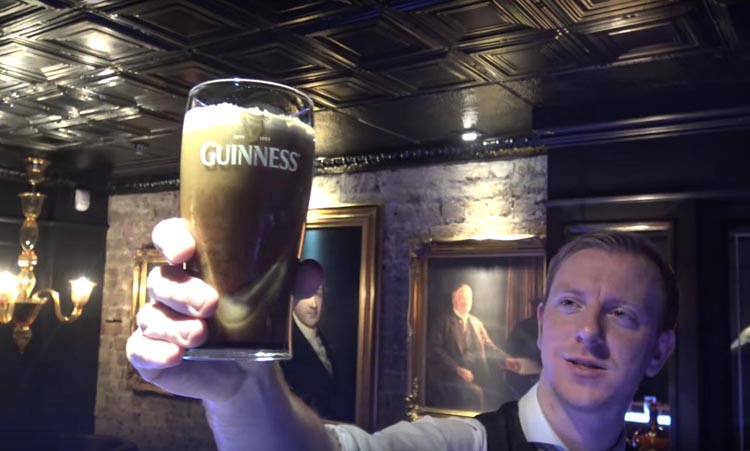 things to do in dublin today | learn to pour a perfect pint of guinness