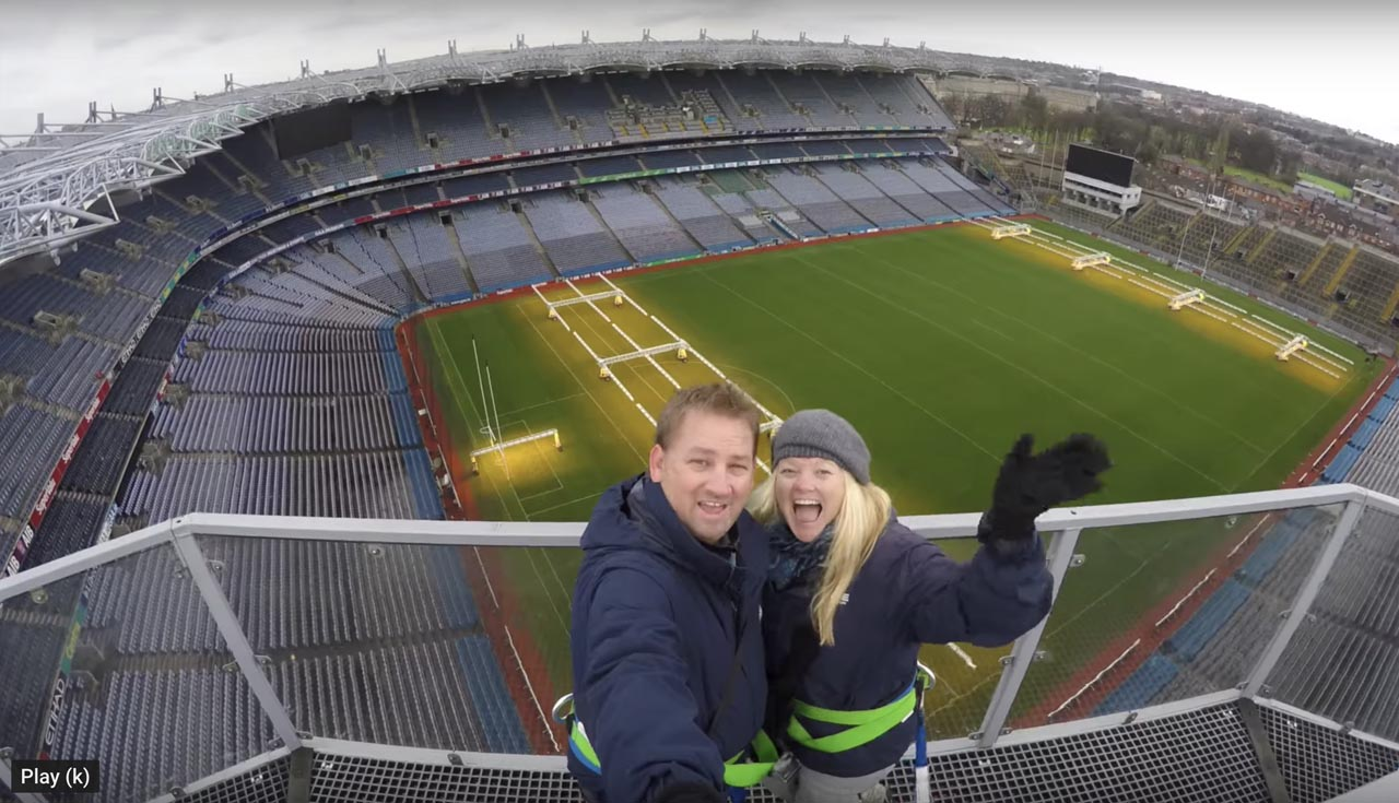 dublin things to do | croke park skywalk