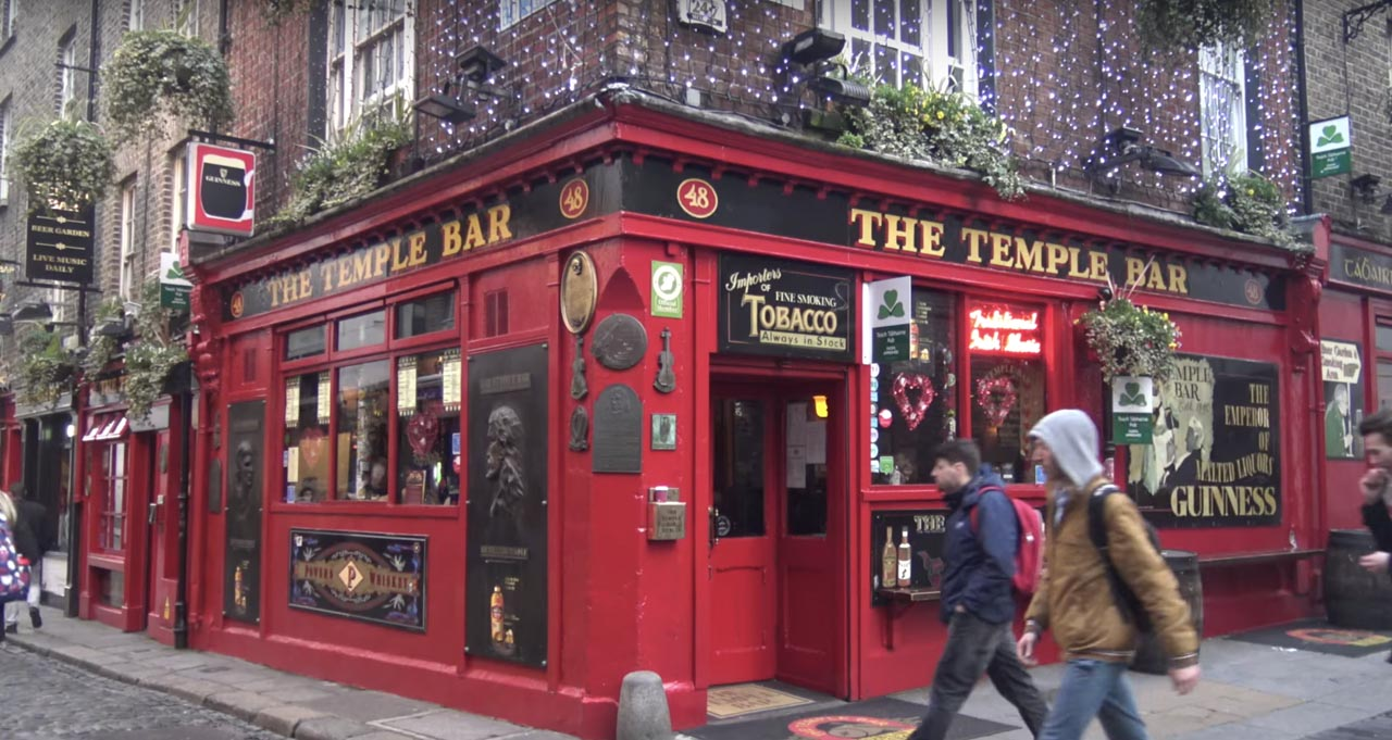 dublin things to do | Temple Bar