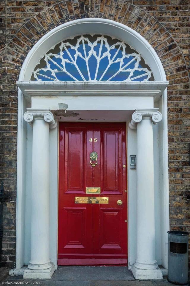 painted doors of dublin
