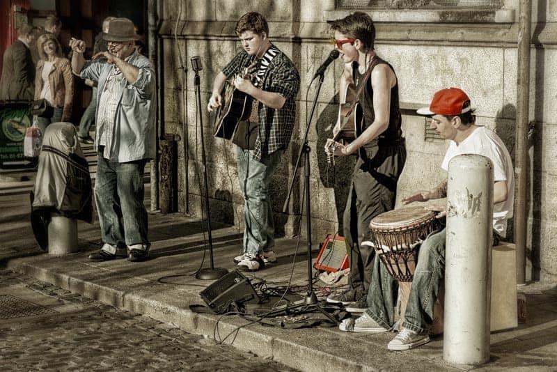dublin street musicians