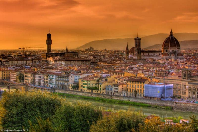 things to do in florence sunset