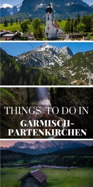 things to do in Garmisch Partenkirchen | Bavaria Germany