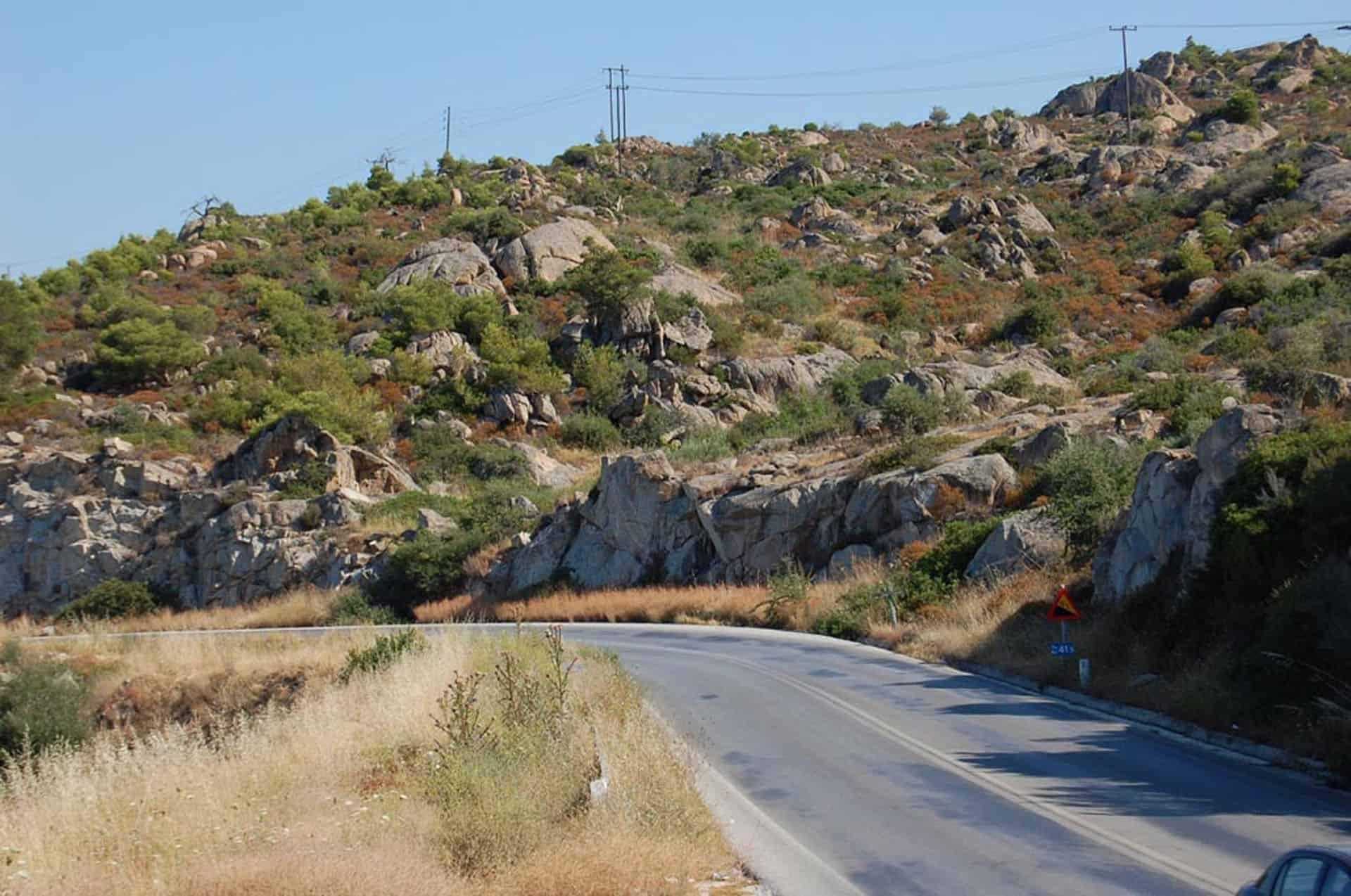 road to halkidiki