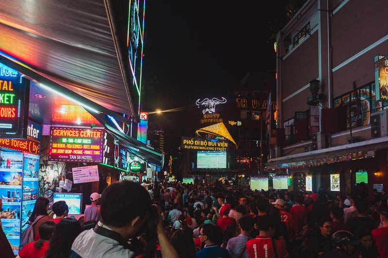 ho chi minh city attractions | bui vien street