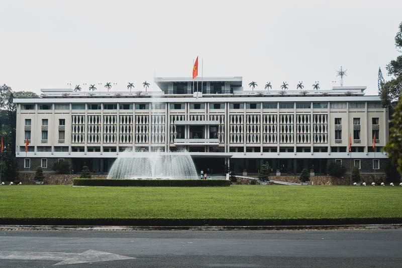 things to do in saigon | reunification palace